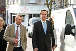 David Cameron, the Conservative Party leader visits Carmarthen alongside Simon Hart, the Prospective Conservative Parliamentary Candidate for Carmarthen West and Pembrokeshire South..