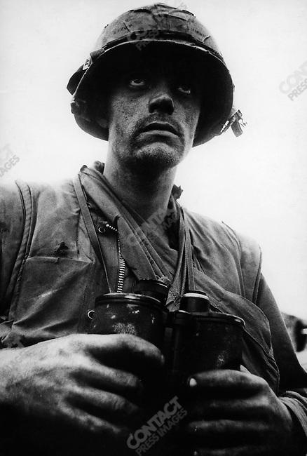 U.S. Marine, Têt offensive, Battle of Hué, Vietnam, February 1968