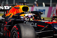 July 3rd 2021; F1 Grand Prix of Austria, qualifying sessions;  VERSTAPPEN Max (ned), Red Bull Racing Honda RB16B celebrates pole during the  2021 Austrian Grand Prix, 9th round of the 2021 FIA Formula One World Championship -