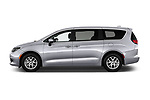 Car driver side profile view of a 2018 Chrysler Pacifica LX 5 Door Mini Van