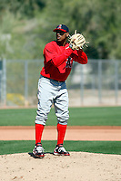 Trevor Reckling - Los Angeles Angels - 2009 spring training.Photo by:  Bill Mitchell/Four Seam Images