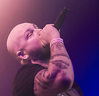 Soilwork on the 2012 Barge to Hell.