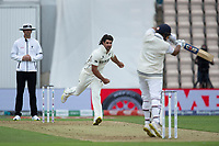 Colin de Granhomme, New Zealand short delivery is punished during India vs New Zealand, ICC World Test Championship Final Cricket at The Hampshire Bowl on 19th June 2021
