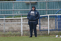 Redbridge manager George Christou during Redbridge vs Clapton, Len Cordell Memorial Cup Football at Oakside Stadium on 10th April 2021