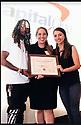 Lorenzo Elliott, Lisa Marie Rhodes, and Monica Zelaya win award.