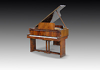 BNPS.co.uk (01202) 558833<br /> Pic: Dreweatts/BNPS<br /> <br /> Pictured: A Chappell grand piano which was purchased directly from the iconic liner Mauretania 2 has an estimate £8,000<br /> <br /> A remarkable collection of rare pianos belonging to the Queen's personal restorer and conservator has emerged for sale for £250,000.<br /> <br /> David Winston is parting with 26 pianos he has amassed over the past 30 years dating from the 18th century to the present day.<br /> <br /> Mr Winston, who was awarded the Royal Warrant in 2012, is regarded as one of the foremost experts in his field and has restored pianos owned and played by Beethoven, Chopin and Liszt.<br /> <br /> His collection includes a 1925 Pleyel grand piano fitted with an original 'Auto Pleyela' self-playing mechanism in a spectacular Chinoiserie Louis XV case valued at 60,000.