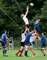 Saturday 5th September 2021<br /> <br /> Charlie Irvine during U19 inter-pro between Ulster Rugby and Leinster at Newforge Country Club, Belfast, Northern Ireland. Photo by John Dickson/Dicksondigital