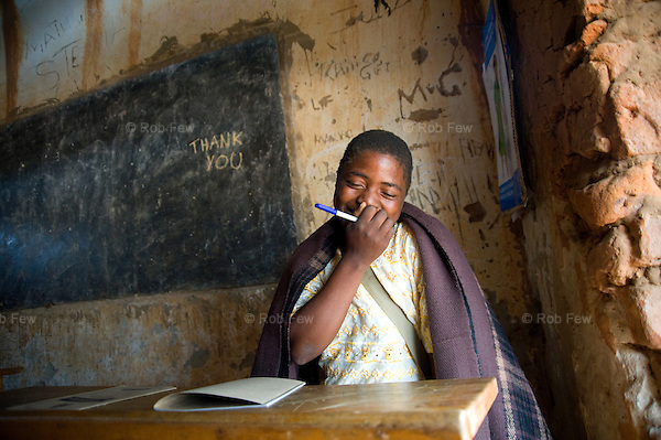 """Paulina Nyirongo in also happy. She left school when she was 10 because there were no toilets. She says, """"I felt bad when I dropped out because I knew my dreams would never come true."""" <br /> <br /> After UNICEF completed the building project, Paulina returned to school. Now she wants to be a nurse so she can help people like the nurses who helped her with her epilepsy when she was younger. <br /> <br /> The small staff of Msiwa School, near the capital of Malawi, struggle to provide an education with a tiny budget and little equipment. Until recently, they didn't just need more teachers and books to get their children through school - they also needed more toilets. Without latrines and washing facilities, children were getting sick and dropping out, particularly girls."""