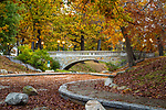 Autumn at Deering Oaks Park in Portland, Maine, USA
