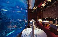 Vereinigte arabische Emirate (VAE, UAE), Dubai, Hotel Burj al Arab, Restaurant al Mahara