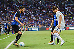 FC Internazionale Defender Danilo D'Ambrosio (L) plays against Chelsea Forward Alvaro Morata (R) during the International Champions Cup 2017 match between FC Internazionale and Chelsea FC on July 29, 2017 in Singapore. Photo by Marcio Rodrigo Machado / Power Sport Images