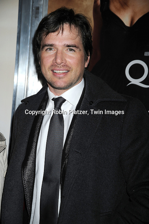 """Matthew Settle..at The Tribeca Film Institute Benefit Screening of """"Quantum of Solace"""" movie screening on November 11, 2008 at AMC Lincoln Square Theatre. The movie stars DAniel Craig and Jeffrey Wright. ....Robin Platzer/Twin Images"""
