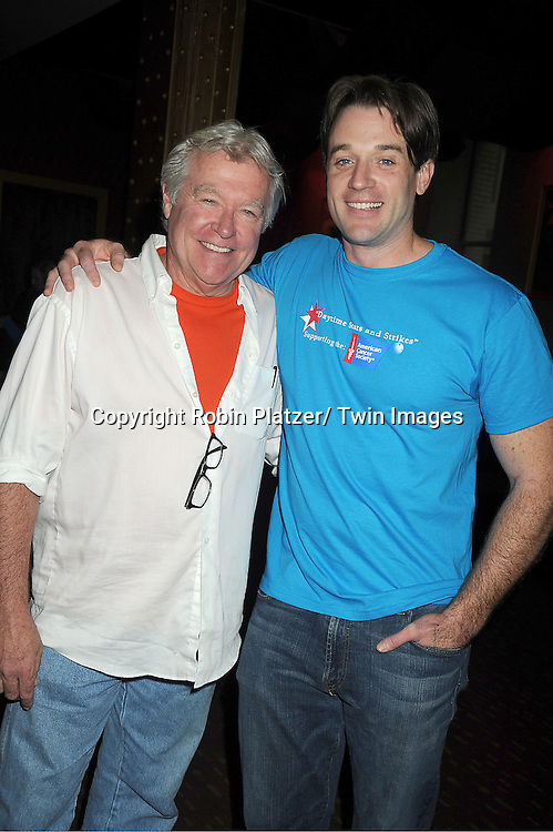 Jerry verDorn and Tom Degnan attends the Daytime Stars and Strike Charity Event benefitting The American Cancer Society on October 7, 2012 at Bowlmor Lanes in Times Square in New York City.