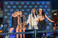 LAS VEGAS, NV - July 15, 2021: Hannah Godwin, Lori Krebs, Katie Morton and Amari Smith pictured at Super Karaoke at The Superbook at Westgate Las Vegas Resort & Casino in Las Vegas, NV on July 15, 2021. <br /> CAP/MPI/GDP<br /> ©GDP/MPI/Capital Pictures
