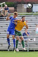 Scott Lorenz #25 (minn), Brad Stisser...AC St Louis and NSC Minnesota Stars played to a 2-2 tie at Anheuser-Busch Soccer Park, Fenton, Missouri.