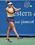 August  18, 2019:  Madison Keys (USA) defeated Svetlana Kuznetsova (RUS) 7-5, 7-6, at the Western & Southern Open being played at Lindner Family Tennis Center in Mason, Ohio. ©Leslie Billman/Tennisclix/CSM