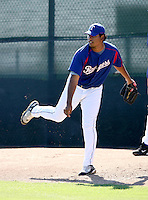 Wilmer Font / Texas Rangers 2008 Instructional League..Photo by:  Bill Mitchell/Four Seam Images