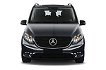 Car photography straight front view of a 2021 Mercedes Benz Vito-Tourer - 5 Door Passenger Van Front View