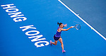 Sabine Lisicki of Germany vs Francesca Schiavone of Italy on their semi finals match during the WTA Prudential Hong Kong Tennis Open at the Victoria Pack Stadium on 13th September 2014 in Hong Kong, China. Photo by Victor Fraile / Power Sport Images