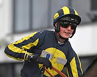 Jockey C M Leonard during Horse Racing at Plumpton Racecourse on 10th February 2020