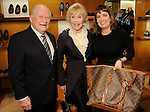 From left: Bud Hagner, Joanne King Herring and Patricia Smith at a special evening in honor of Alley Theatre's Wild Things at the Louis Vuitton store in The Galleria Wednesday Sept. 30,2015.(Dave Rossman photo)