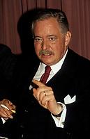 FILE -<br /> Jacques Parizeau en mai 1991 (date exacte inconnue)<br /> <br /> <br /> PHOTO  : Pierre Roussel - Agence Quebec Presse