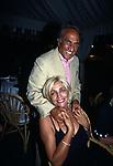 EMILIO FEDE CON MARA VENIER<br /> FESTA PER I 60 ANNI DI MAURIZIO COSTANZO<br /> MANEGGIO DI GIANNELLA  1998