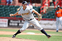 Trenton Thunder Relief Pitcher Tim Norton (55) during a game vs. the Erie Seawolves at Jerry Uht Park in Erie, Pennsylvania;  June 24, 2010.   Trenton defeated Erie 11-2.  Photo By Mike Janes/Four Seam Images