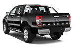 Car pictures of rear three quarter view of a 2014 Ford Ranger Limited 4 Door Pickup Angular Rear