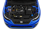 Car Stock 2022 Seat Ibiza Move!-+ 5 Door Hatchback Engine  high angle detail view