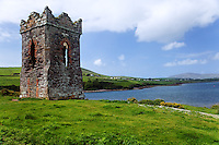 Hussey's Folly and Dingle Harbor, Dingle (An Daingean), Dingle Peninsula, County Kerry, Republic of Ireland