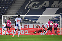 3rd January 2021; Dragao Stadium, Porto, Portugal; Portuguese Championship 2020/2021, FC Porto versus Moreirense; Sérgio Oliveira of FC Porto scores his goal from a penalty kick in the 22th minute 1-0