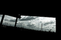 Overpass and view of Florida Area in Bywater, New Orleans.