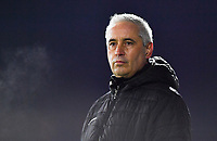 Aalst's head coach Dirk Decoen pictured during a female soccer game between Sporting Charleroi and Eendracht Aalst on the 8th  matchday of the 2020 - 2021 season of Belgian Scooore Womens Super League , friday 20 th of November 2020  in Marcinelle , Belgium . PHOTO SPORTPIX.BE | SPP | DAVID CATRY