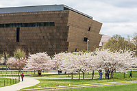 Washington DC, USA.  National Museum of African American History and Culture, a Smithsonian Institution museum.  Opened September 2016.