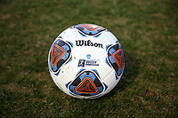 WINSTON-SALEM, NC - DECEMBER 07: NCAA Tournament Soccer Ball during a game between UC Santa Barbara and Wake Forest at W. Dennie Spry Stadium on December 07, 2019 in Winston-Salem, North Carolina.