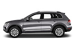 Car Driver side profile view of a 2017 Volkswagen Touareg Sport 5 Door SUV Side View
