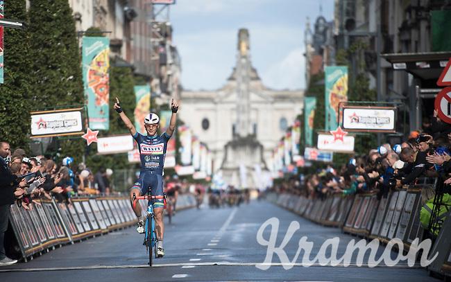 Dimitri Claeys (BEL/Wanty - Groupe Gobert) wins the 50th GP Jef Scherens - Leuven 2016