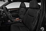 Front seat view of 2017 Chrysler 300C Platinum 4 Door Sedan Front Seat  car photos