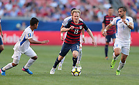 Cleveland, OH - Saturday July 15, 2017: Dax McCarty during a 2017 Gold Cup match between the men's national teams of the United States (USA) and Nicaragua (NCA) at FirstEnergy Stadium.