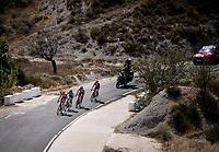 breakaway group with Sander Armée (BEL/Lotto-Soudal) leading<br /> <br /> Stage 2: Benidorm to Calpe (199.6km)<br /> La Vuelta 2019<br /> <br /> ©kramon
