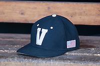 Vanderbilt Commodores hat on June 19, 2015 at TD Ameritrade Park in Omaha, Nebraska. (Andrew Woolley/Four Seam Images)
