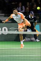ABN AMRO World Tennis Tournament, Rotterdam, The Netherlands, 14 februari, 2017, Fernando Verdasco (SPA)<br /> Photo: Henk Koster