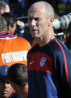 Bob Bradley coach of USA.International Friendly - USA v Australia - Ruimsig Stadium
