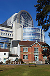 Belgium, Province Brabant, Brussels: European Parliament building | Belgien, Provinz Brabant, Bruessel: Das Europaeische Parlamentsgebaeude