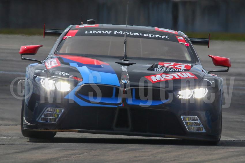 #24 BMW TEAM RLL(USA) BMW M8 GTE GTLM - JOHN EDWARDS (USA) JESSE KROHN (FIN) AUGUSTO FARFUS (BRA)