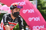Caleb Ewan (AUS) Lotto-Soudal arrives at sign on before the start of Stage 7 of the 2021 Giro d'Italia, running 181km from Notaresco to Termoli, Italy. 14th May 2021.  <br /> Picture: LaPresse/Gian Mattia D'Alberto | Cyclefile<br /> <br /> All photos usage must carry mandatory copyright credit (© Cyclefile | LaPresse/Gian Mattia D'Alberto)