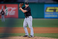 Jupiter Hammerheads starting pitcher Taylor Braley (29) during a Florida State League game against the Dunedin Blue Jays on May 15, 2019 at Jack Russell Memorial Stadium in Clearwater, Florida.  Dunedin defeated Jupiter 8-4 in nine innings, the second game of a doubleheader.  (Mike Janes/Four Seam Images)