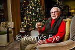 107 year old Michael O'Connor from Killarney  looking forward Christmas.