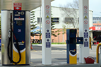 BOGOTÁ-COLOMBIA-14-01-2013. Estación de gas natural vehícular./ Natural gas vehicle station.  Photo: VizzorImage/STR